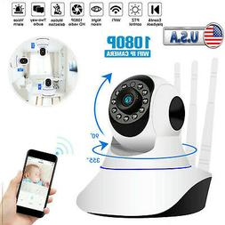 1080P WiFi IP Camera Wireless Home Security Baby Pet Monitor