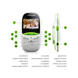 2.0 Inch LCD Display Wireless Digital Audio Video Baby Monit