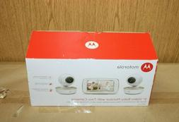 """Motorola 5"""" Video Baby Monitor with Two Cameras"""