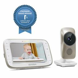 """Motorola 5"""" Video Baby Monitor with Wi-Fi Viewing MBP845CONN"""