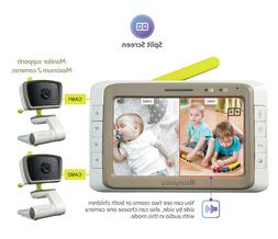MoonyBaby Split Screen, Wide Angle, Two Cameras System Video