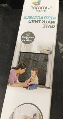 Summer Infant 30 in. H Retractable Gate