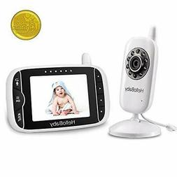 HelloBaby Baby Monitor with Full-Color and Automatic