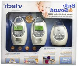 VTech DM221-2 Audio Baby Monitor with up to 1,000 ft of Rang