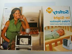 Safety 1st In-Sight Video Monitor Voice & Picture Baby /Elde