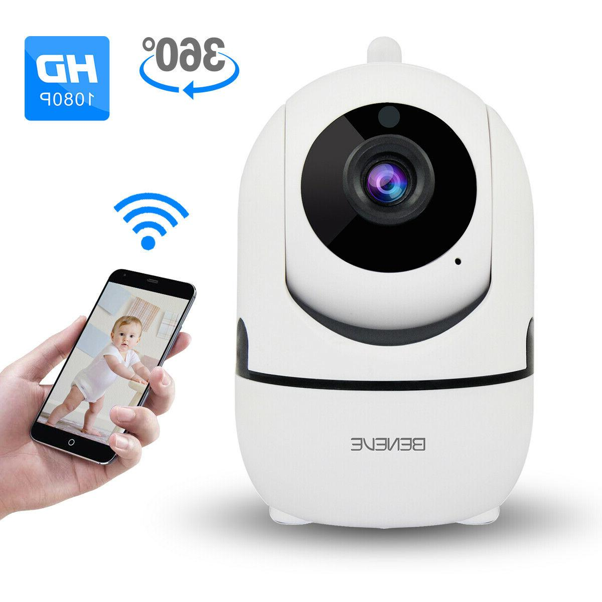 1080p wifi ip camera in outdoor home