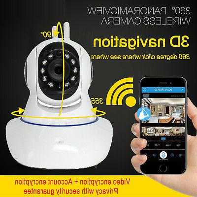 Baby Wireless WIFI HD Security Pan Vision