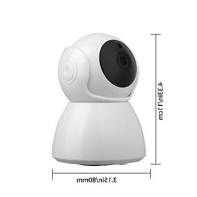 Wireless Pan Baby Pet Security Camera WiFi