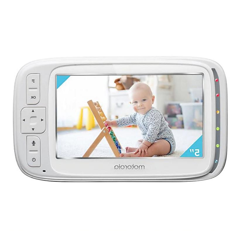 Motorola Comfort75-2 Video Monitor with 2 & Remote Pan 5