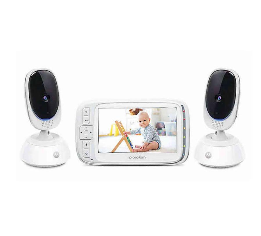 comfort75 2 video baby monitor with 2