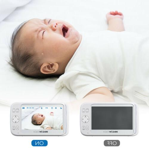 "DT50 5"" Camera Baby Monitor"