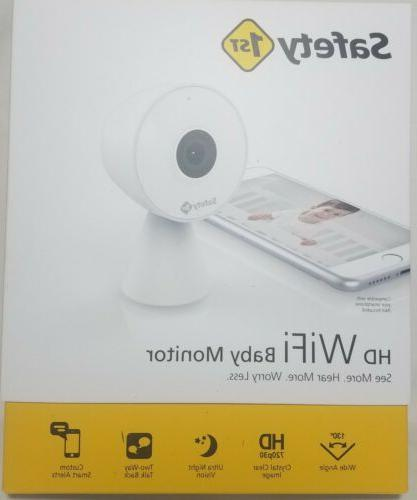 first hd wifi baby monitor new unused