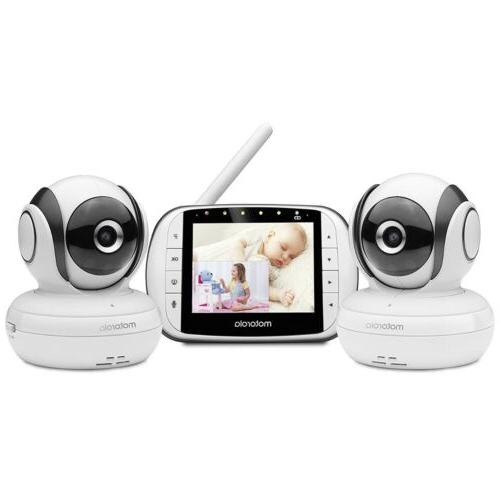 mbp36s 2 video baby monitor 2 camera