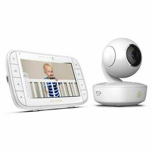 mbp36xl portable video baby monitor white new