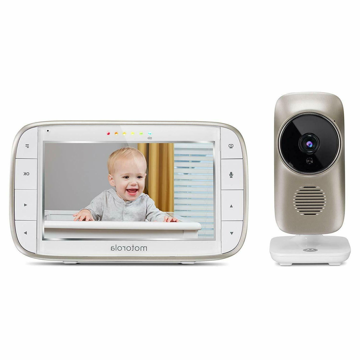 mbp845connect 5 inch video baby monitor w