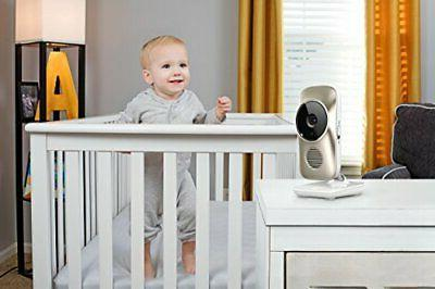 Motorola MBP845CONNECT Video Baby Monitor with Viewing, Zoom,