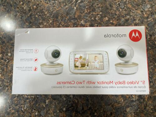 new mbp50 g2 baby monitor and two