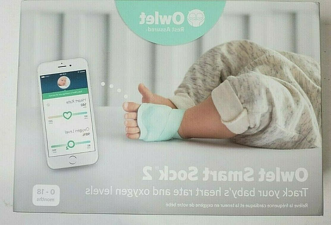 owlet smart sock baby monitor track infants heart rate oxyge