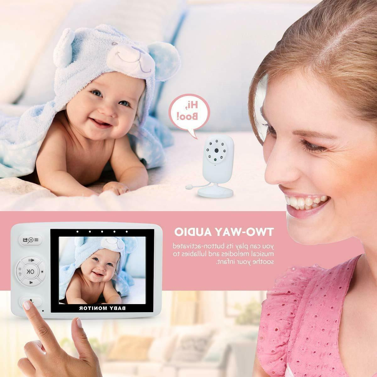 Wireless Video Baby with Night Vision, Audio Monitor
