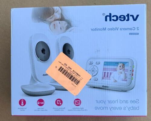 "VTech VM3252-2 2.8"" Digital Video Baby Monitor with 2 Came"