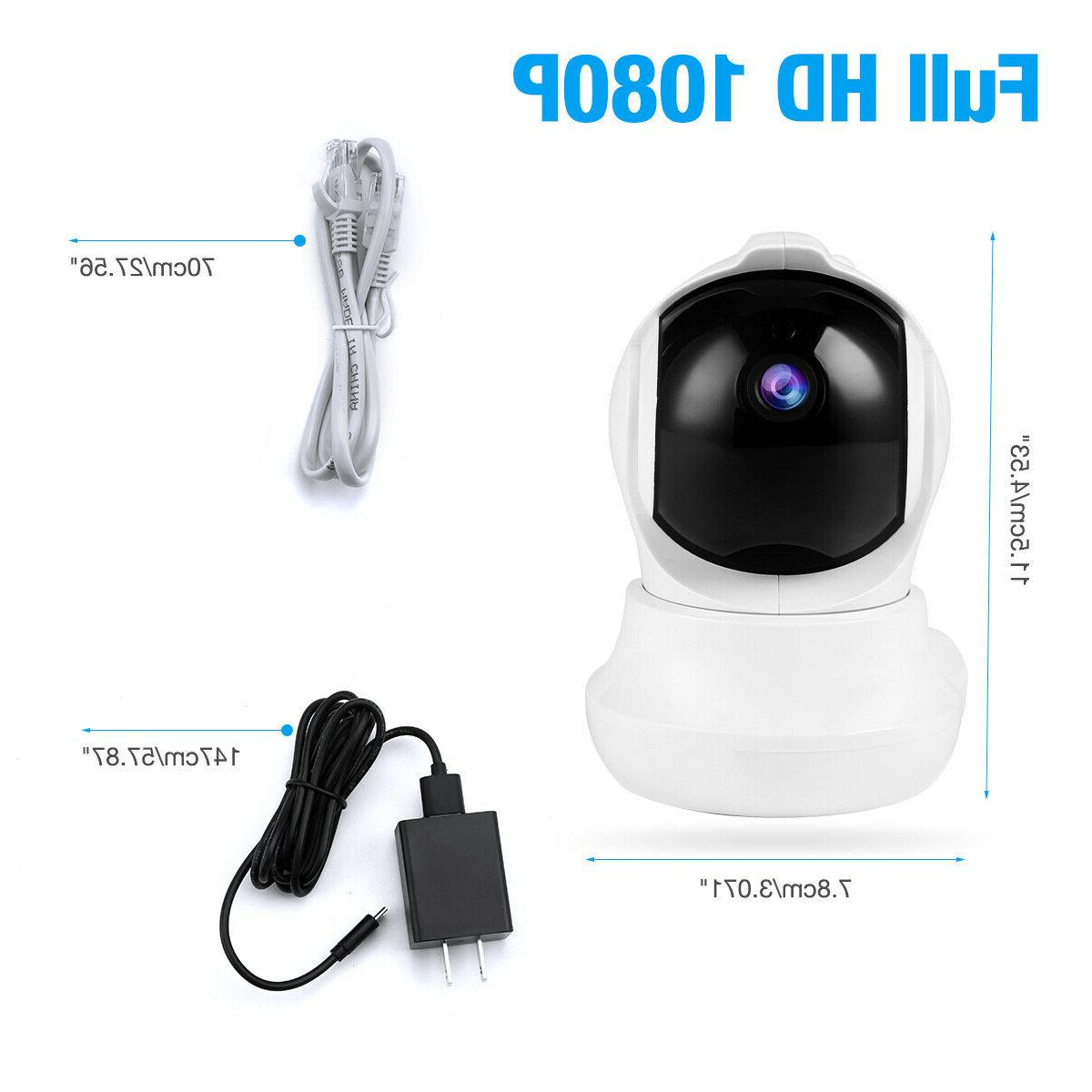 Wireless Security Indoor Home Smart Wifi Monitor IR Night Vision