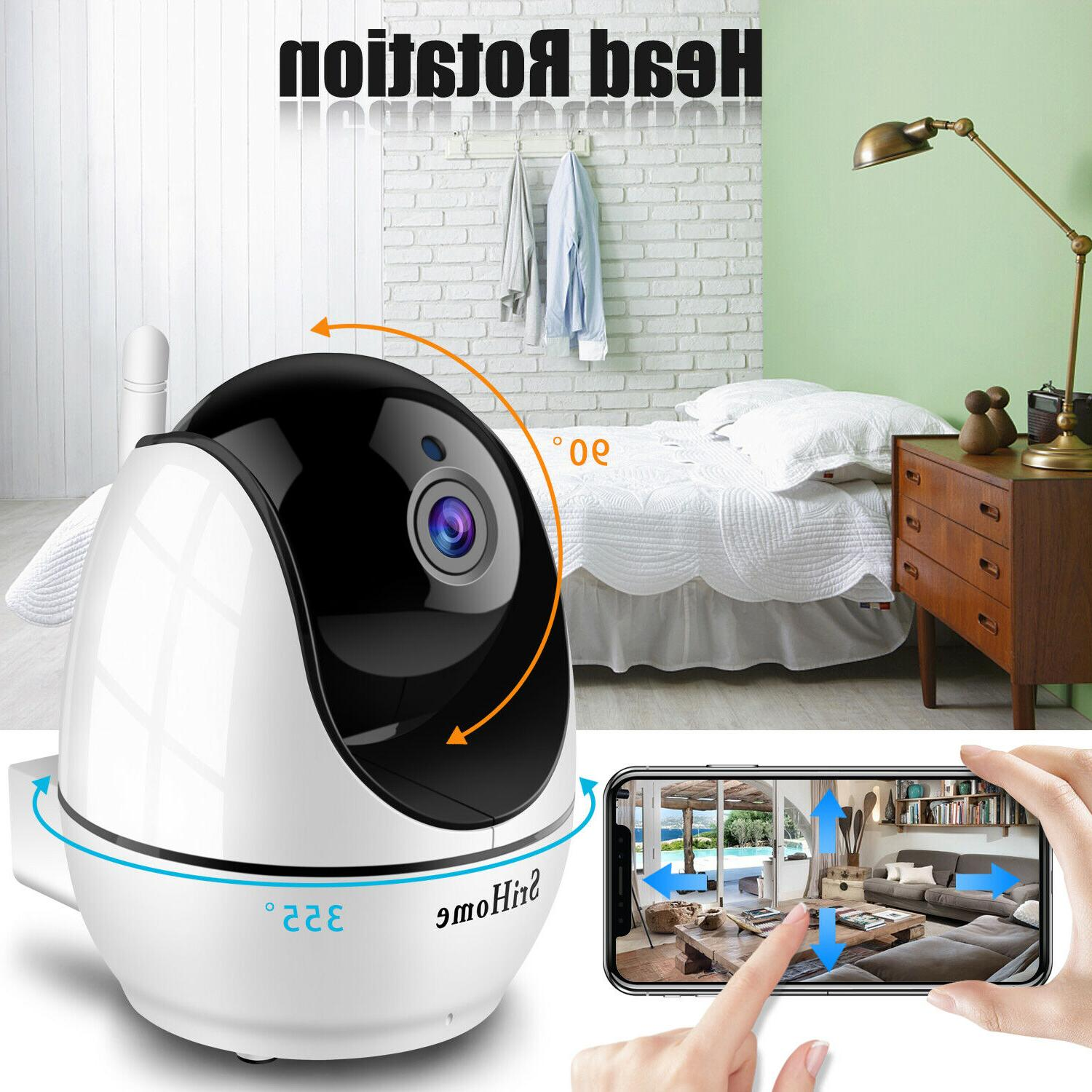 1080P WiFi Indoor Security Home Wireless Night Vision