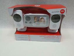 """Motorola MBP483-2 2.8"""" Video Baby Infant Monitor with Two Ca"""