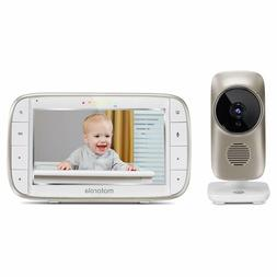 Motorola MBP845CONNECT 5 inch Video Baby Monitor w/ Wi-Fi 2