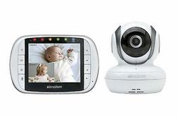 Motorola MBP36S Remote Wireless Video Baby Monitor with 3.5-
