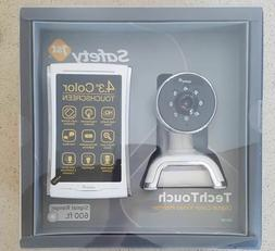 Safety 1st TechTouch Digital Color Video Monitor, White