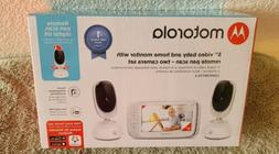 "Motorola - Video Baby Monitor with 2 cameras and 5"" Screen -"