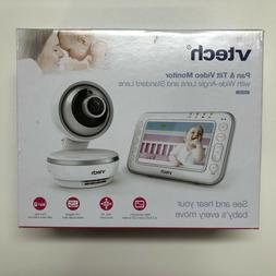 "VTech - Video Baby Monitor with 4.3"" Screen - White VM4261"