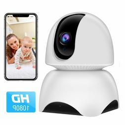 WiFi Dome Cameras IP 1080P, Wireless Security Pat   Baby Mon