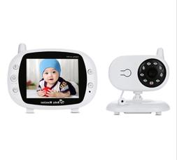 Wireless Baby Monitor with Camera and Audio Night Vision Tem