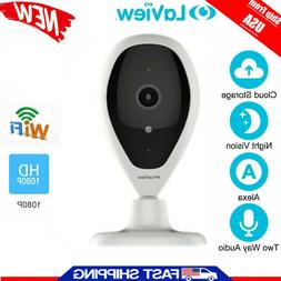 Wireless HD 1080P Baby Pet Monitor Network Security IP Camer