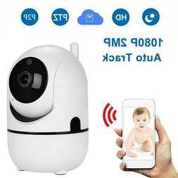 Wireless Security Camera Indoor Smart Wifi System Baby Monit